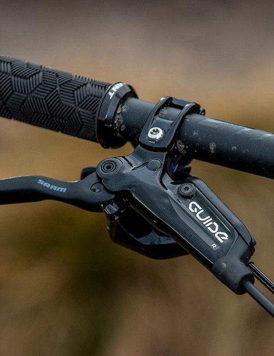 SRAM's Guide R brakes are basic, reliable, but not the most powerful