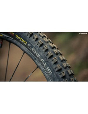 Hutchinson has just launched it's newest gravity tyre, the Griffus