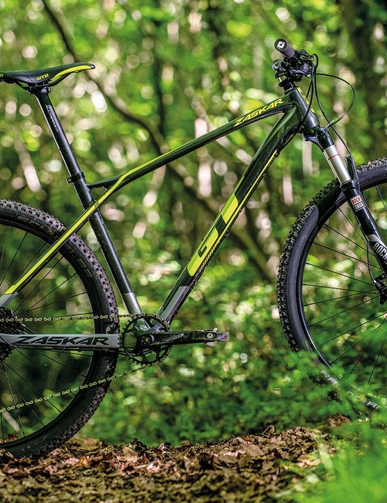 The Zaskar's carbon frame is great, but doesn't leave much in the budget for kit