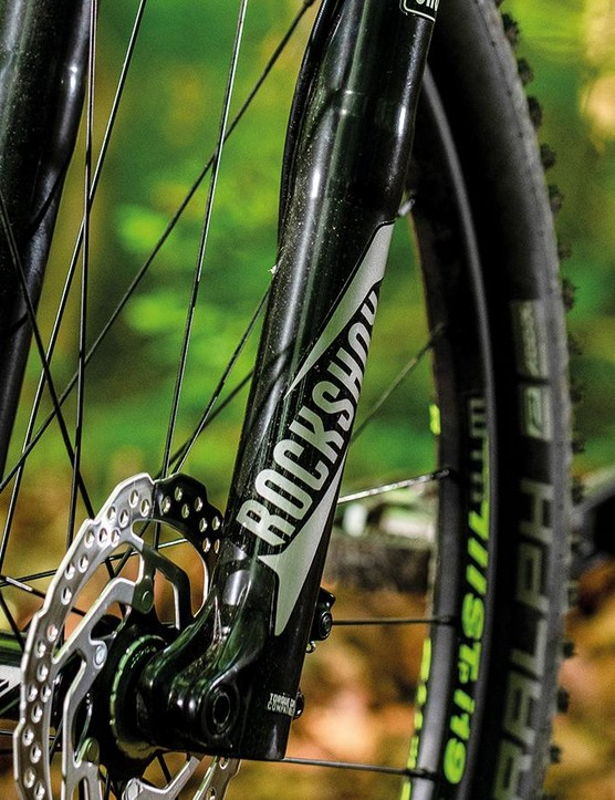 RockShox's Recon Gold fork is a budget unit often seen on sub-£1k bikes