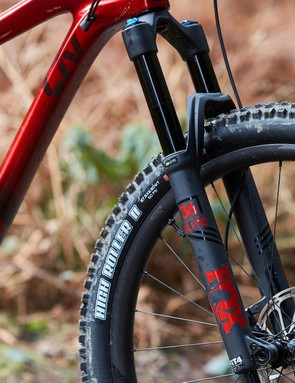 The FIT4 damper on the Fox 36 fork is a beautiful pairing for hard riding