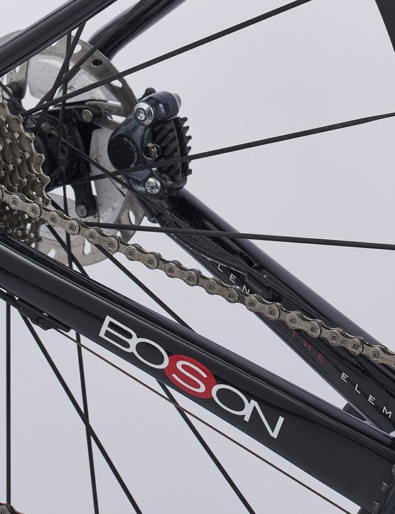Chainstay and Shimano Ultegra gears