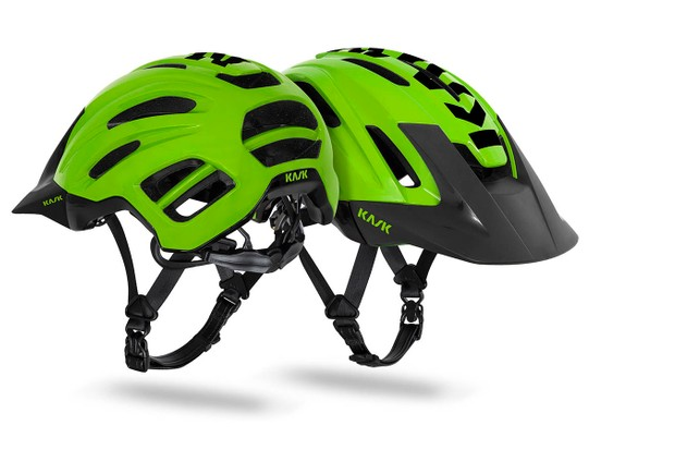 Kask has added a second mountain bike lid to its lineup, the Caipi
