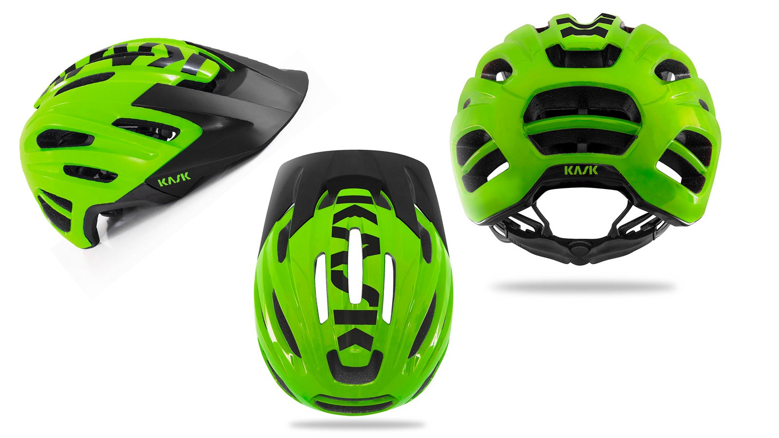 The Caipi appears to be the brand's new flagship off-road helmet