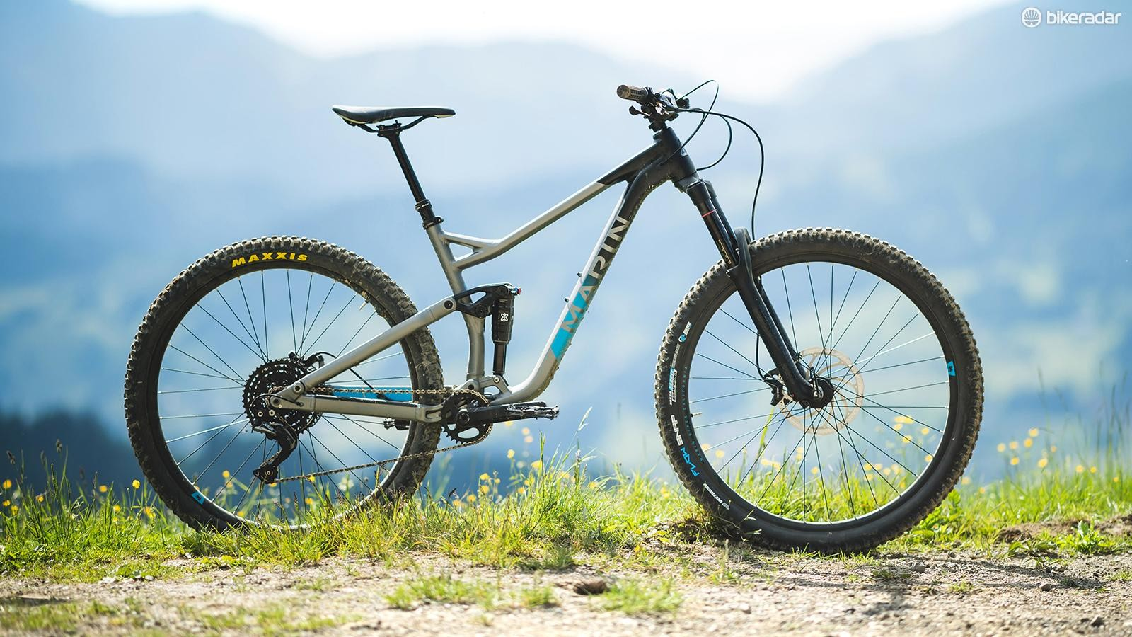 At £2,200 Marin's base-level Alpine Trail is a lot of bike for your money