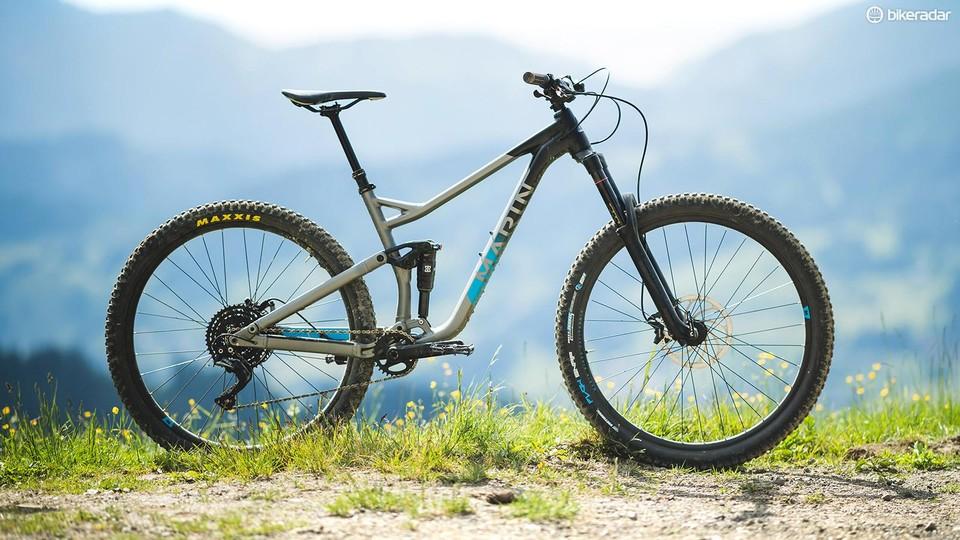 Trail Mountain Bikes >> Marin Alpine Trail 7 First Ride Review Full Suspension Mountain