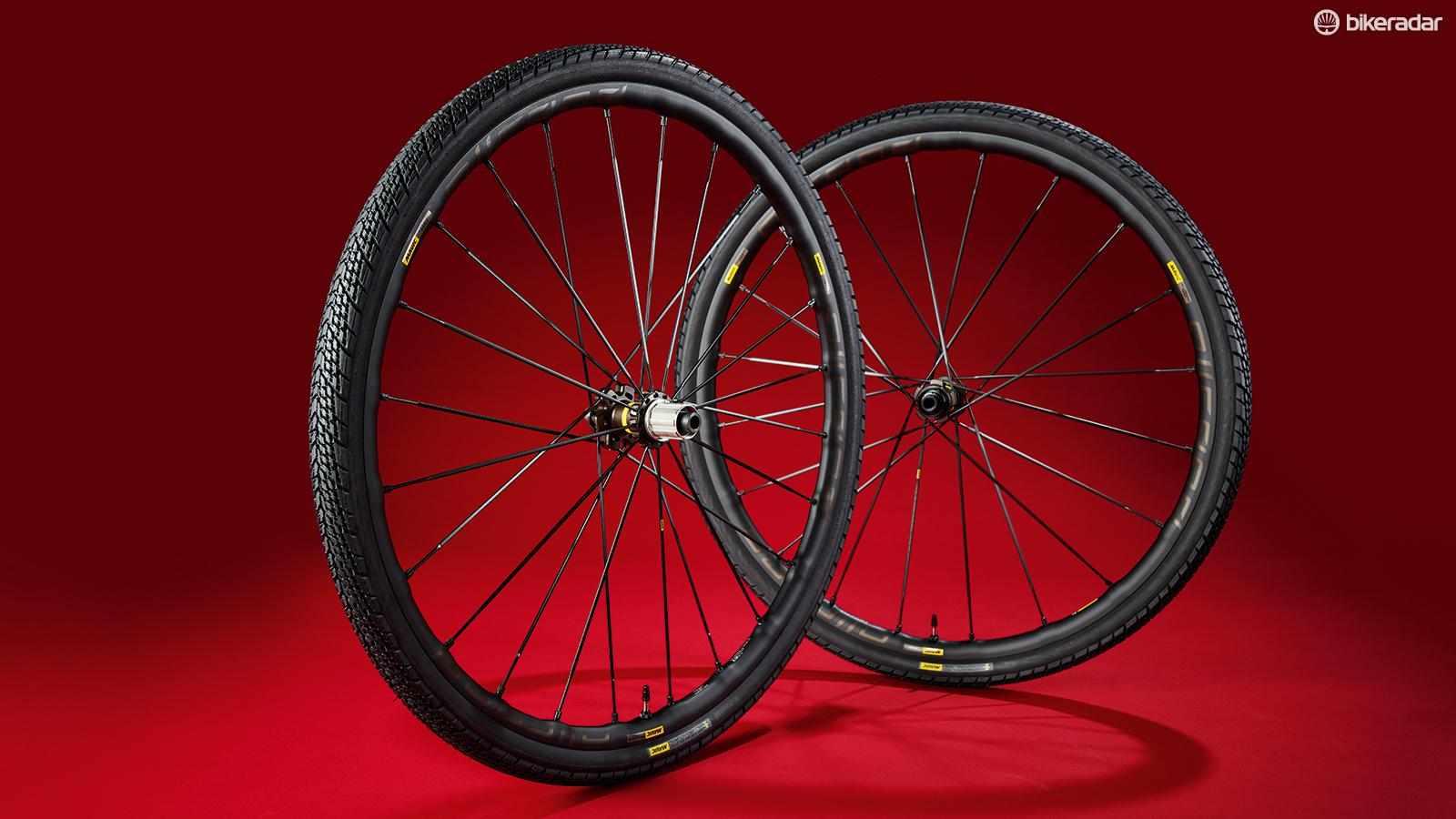 Mavic Allroad Pro UST Disc wheelset