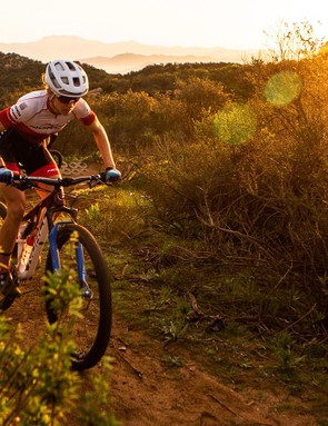 The Revolver FS 100 was designed specifically for Norco's Factory XC team