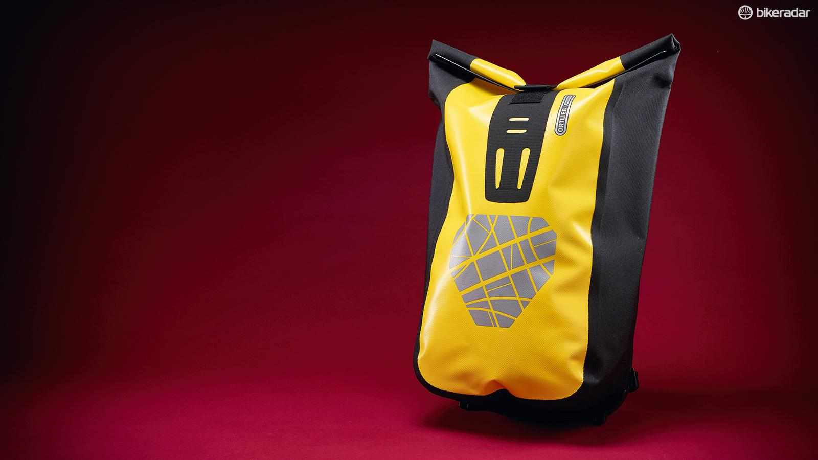 The bag has great waterproofing from the rolltop closure, which is secured by super-strong Velcro