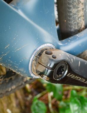 Italian bottom bracket fitted to Pinarello gravel bike