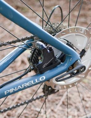 Pinarello Grevil rear brake caliper