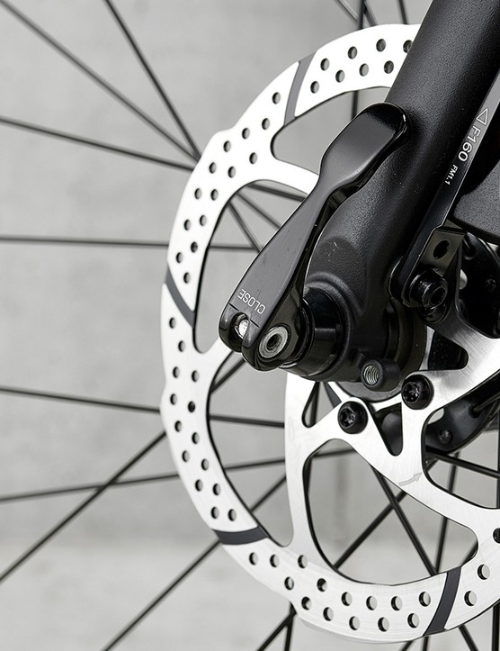 disc brakes on Pinnacle Pyrolite 1