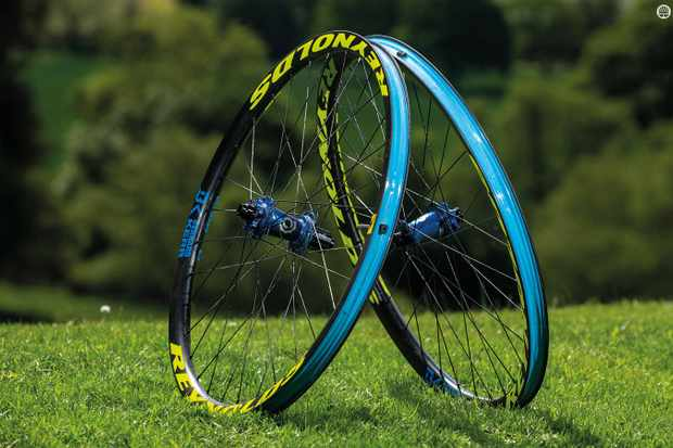 These top-drawer carbon wheels are World Cup racer Bernard Kerr's signature edition