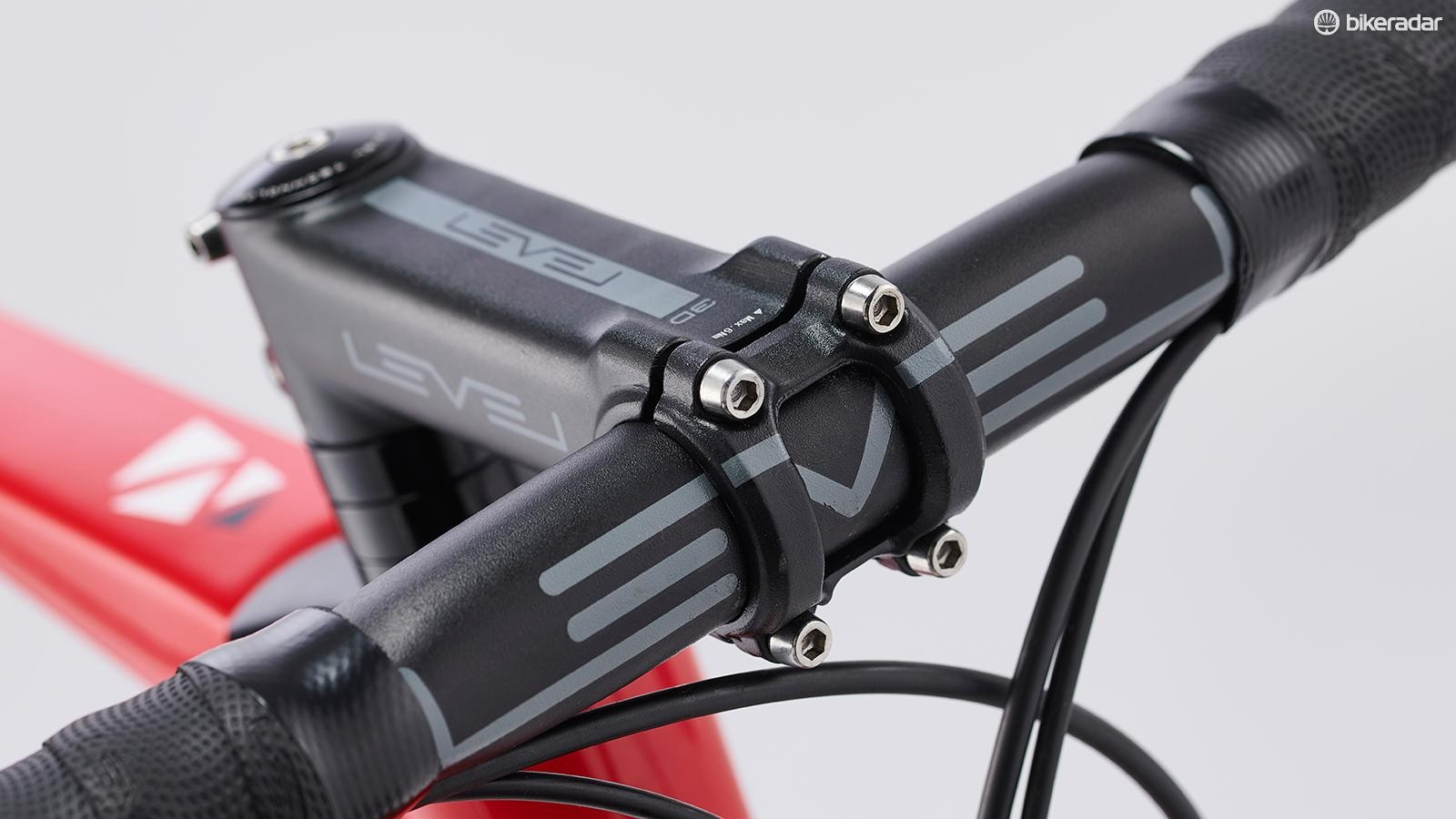 The Level bar and stem are quality alloy