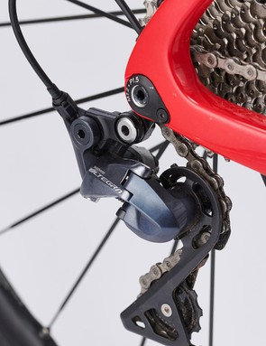 The Shimano Ultegra brakes are superb