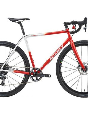 The 25th-anniversary edition of the Ritchey Swiss Cross comes in a unique paint job
