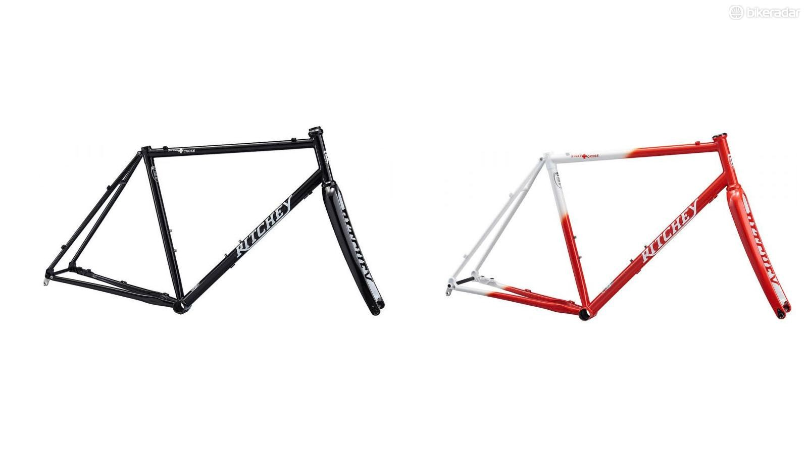 There will only be 100 red and white frames, while the black and the white paint job will be mass produced