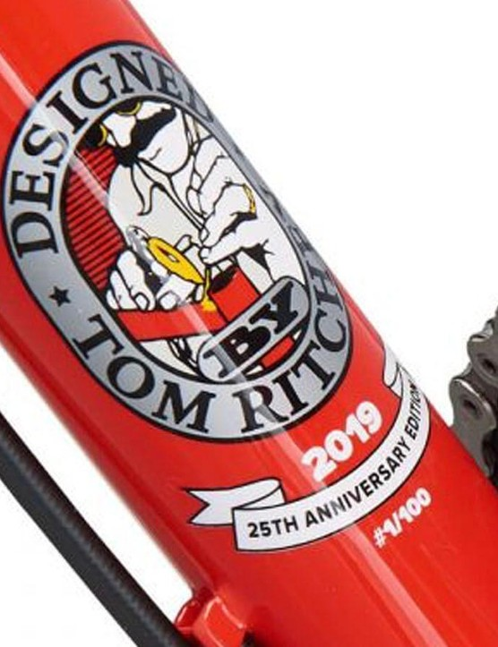 Each of the limited edition bikes will be numbered