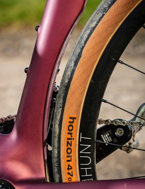 The wheels are a collaboration between Rondo and British wheel brand Hunt