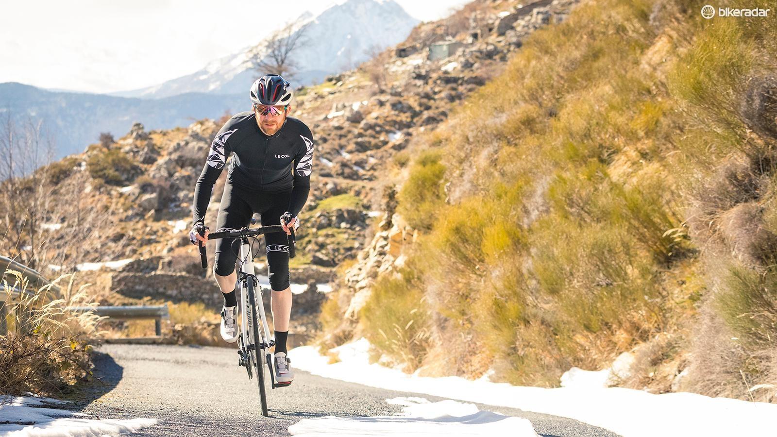The Pro SL is a swift, sharp-handling, lightweight road bike