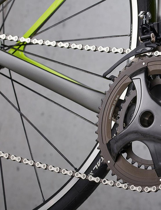 We're big fans of the Campagnolo Chorus gearing