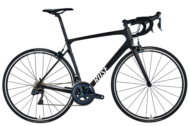 Rose X-Lite Four Ultegra Di2 white background