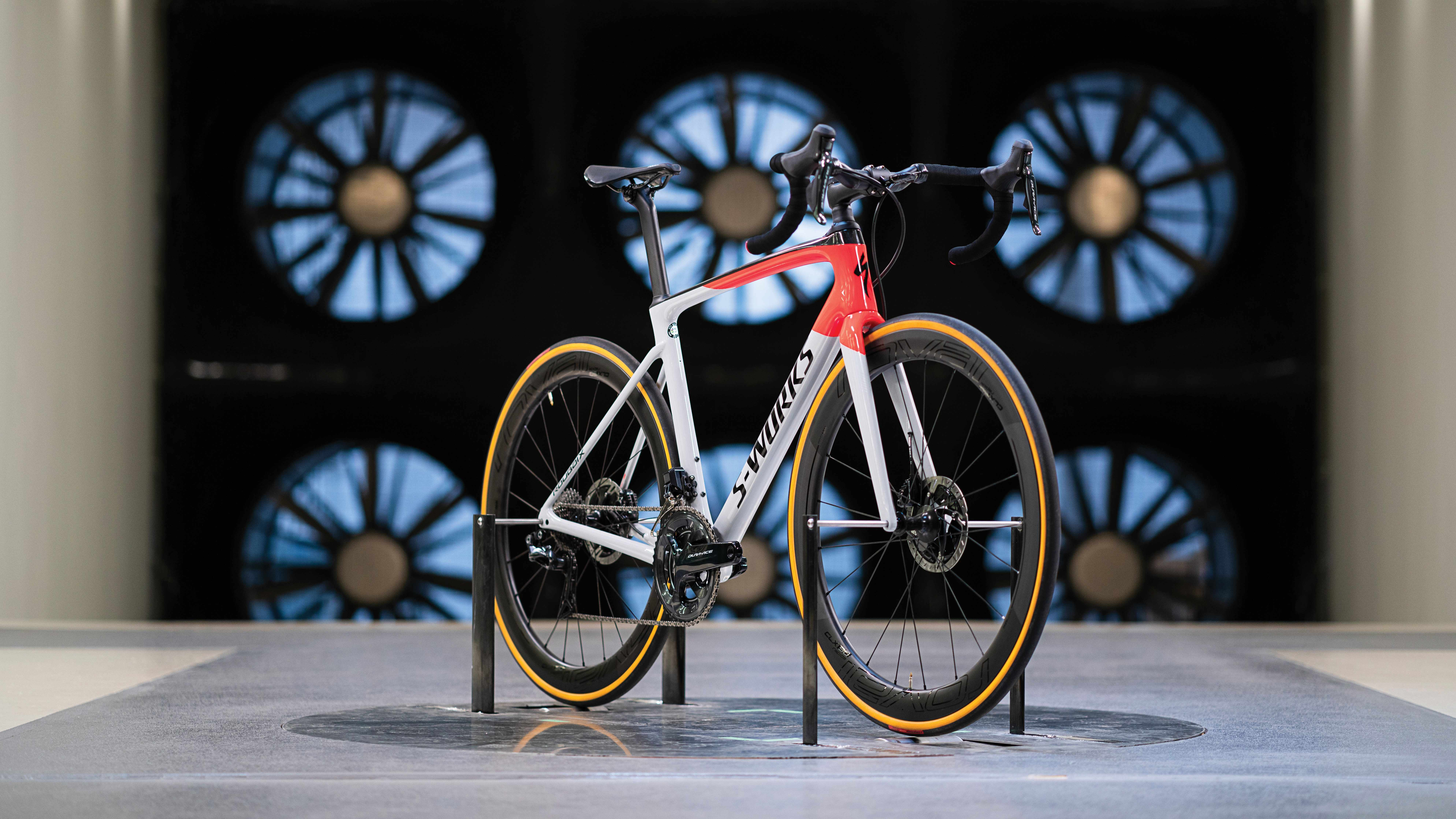 The 2019 Specialized Roubaix was tested in Specialized's own wind tunnel