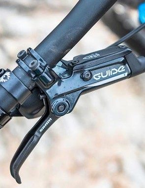 SRAM Guide Level T brakes are cheap and low in power