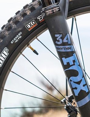 The Rhythm 34 fork from Fox feels smooth and well controlled