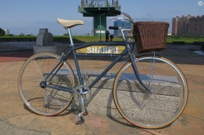 Shaker's first bike is a pretty, classic-looking and very affordable town machine