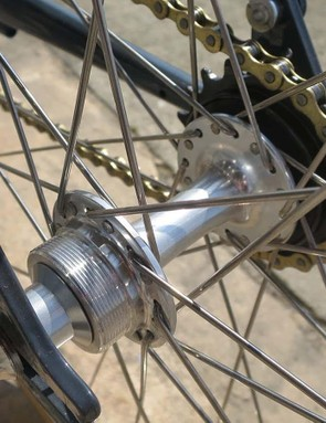 The bike comes singlespeed but the flip-flop hub should keep fixed gear fans happy