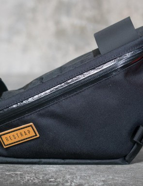 This dinky frame bag is perfect for portage