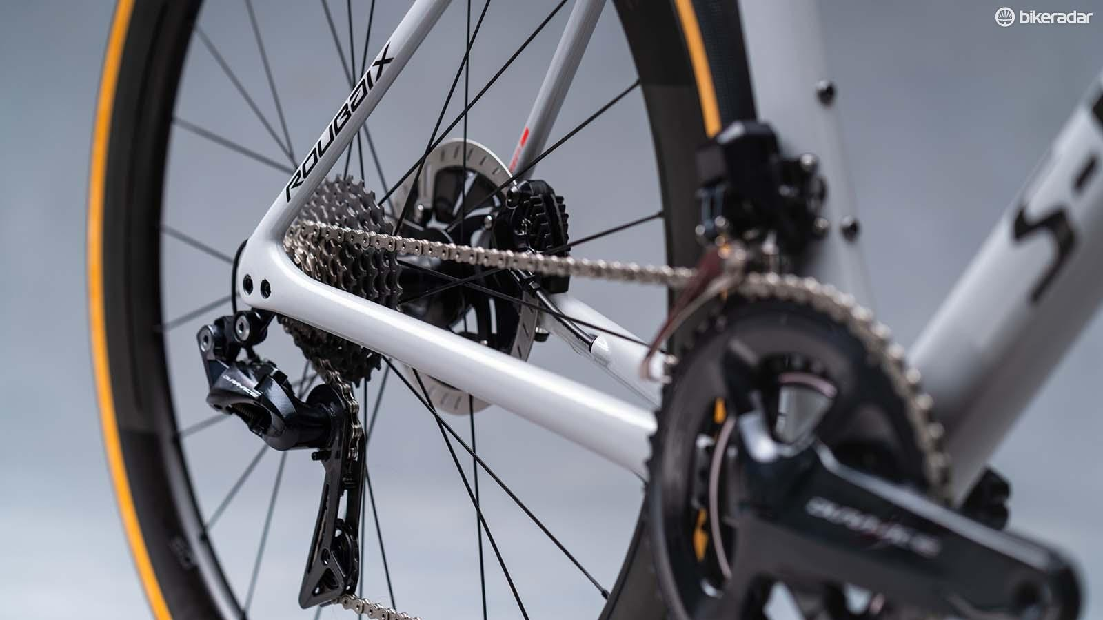 SRAM's Force chainset
