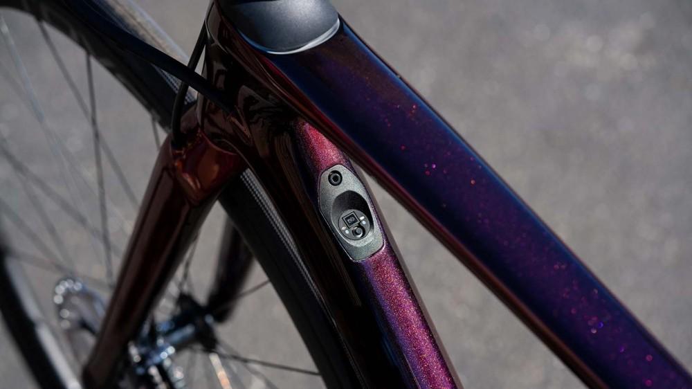 Di2-equipped bikes integrate the Di2 controller into the down tube