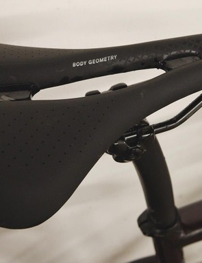 The Oura Comp saddle is race-focussed, women's specific and I found it comfortable