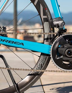 First impressions suggest that SRAM Force eTap ACS feels, shifts and brakes as impressively as its premium-priced sibling, Red eTap
