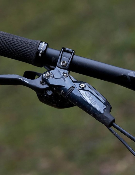 SRAM's new G2 brake is an evolution on its well-established and much liked Guide brake but boasts a claimed seven percent increase in power over its predecessor
