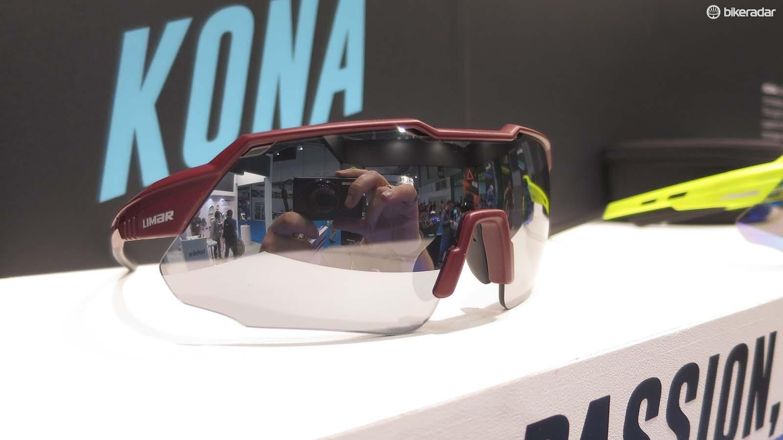 The new Kona glass from Limar is a nice mix of '80s retro and modern detailing