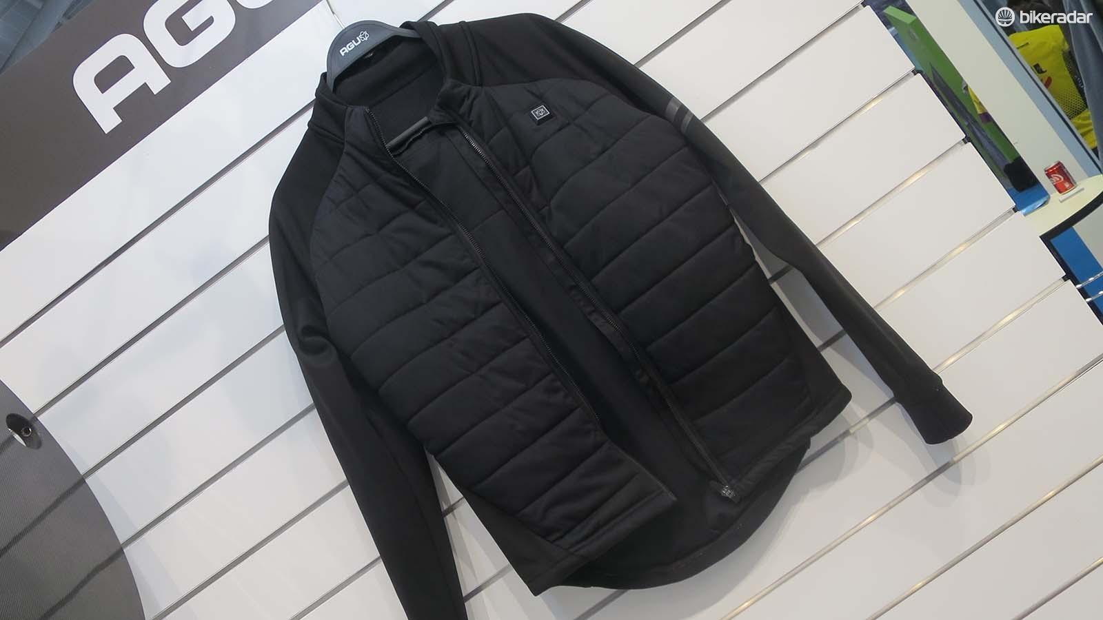 AGU's deep winter jacket looks like your average primaloft padded winter top