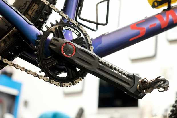 The Rotor 2inPower power meter was the worlds first true dual sided MTB power meter