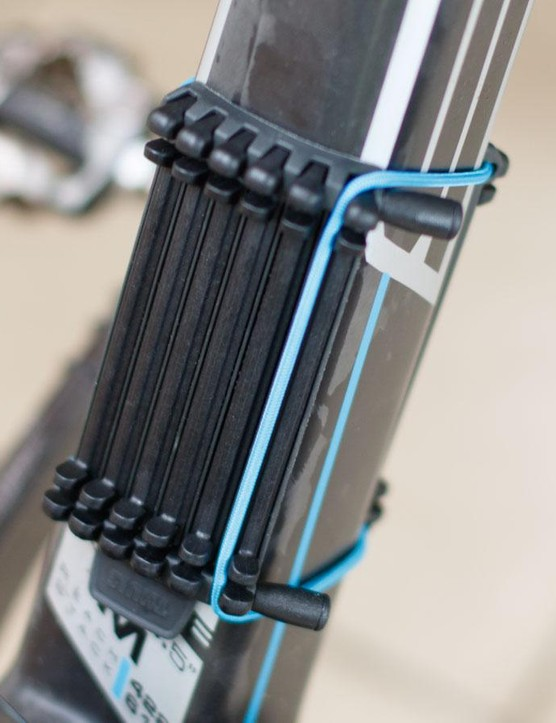 While not needed for the majority of performance bikes out there, Thule offers its 'Carbon Frame Protector' (984) for those wanting to transport seriously thin and light frames. Still, we can't help but feel such an accessory should be included with a rack of this price