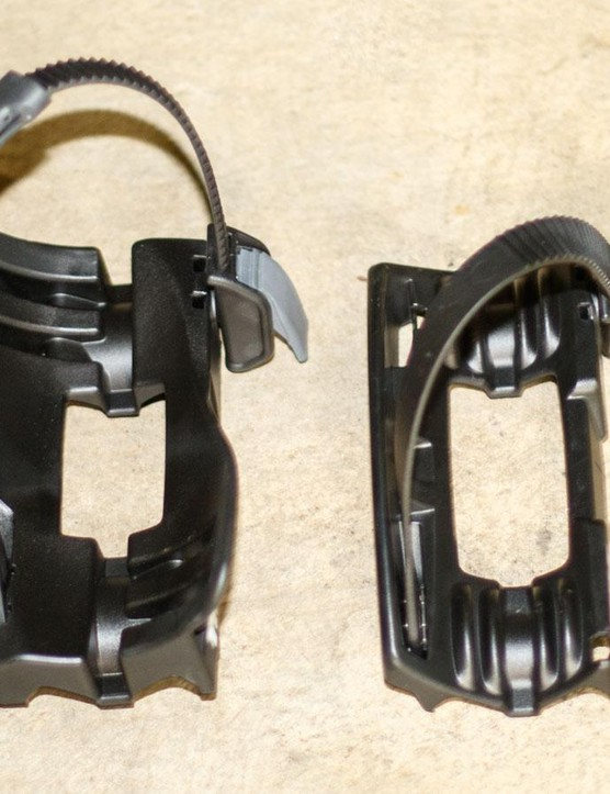 The Thule Fat Bike Adaptor (5981) is simply two new wheel holders designed to hold some seriously fat rubber. Here is a Fat Bike Adaptor (left) next to the standard wheel holder of the Proride 598