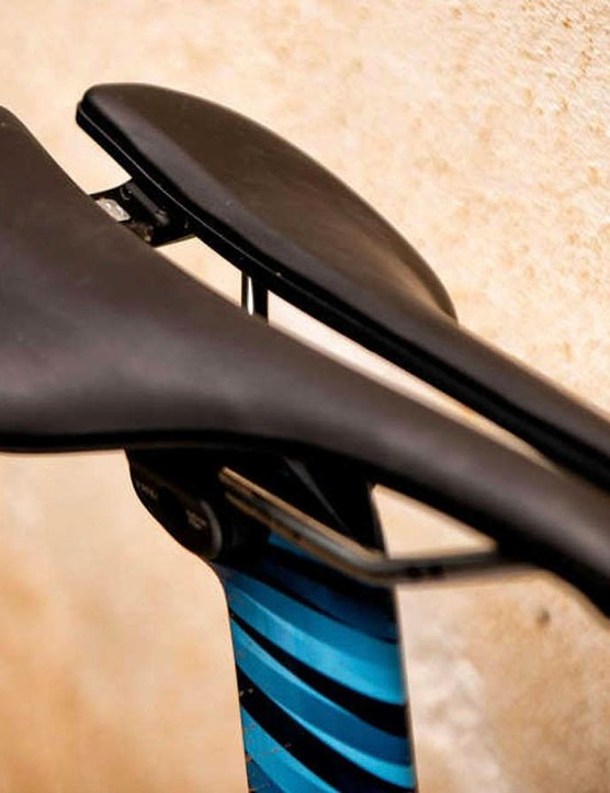 Bontrager has released its own version of the short wide nosed saddle