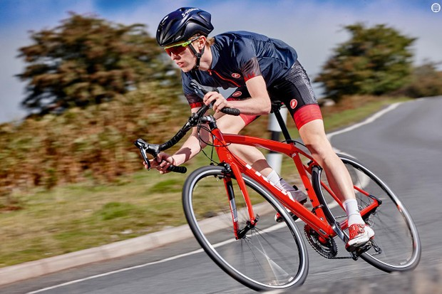 This is a bike built for endurance rather than all-out speed