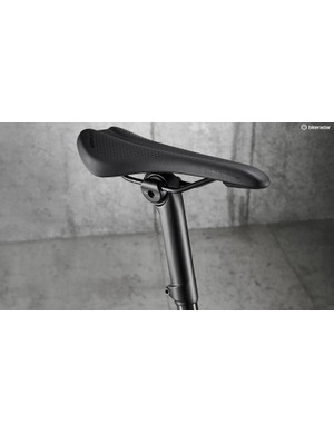 An IsoSpeed decoupler in the seat tube helps to smooth out bumpy surfaces