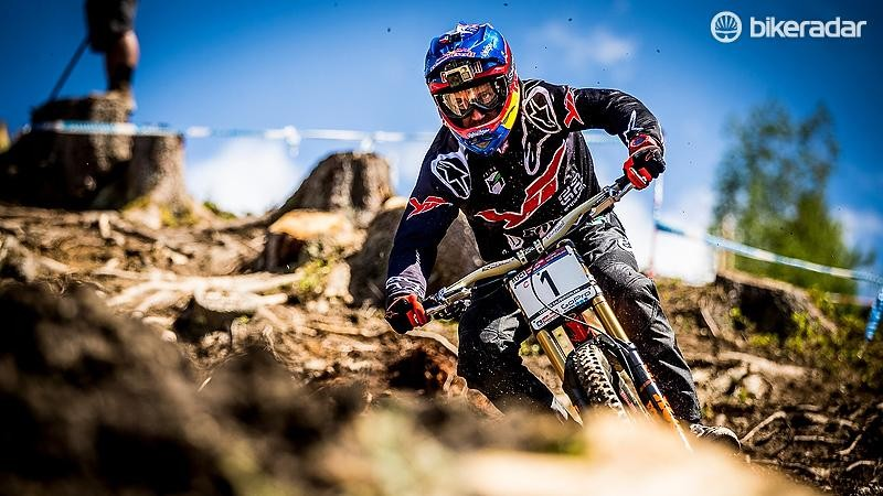 Is American Aaron Gwin the fastest rider ever?