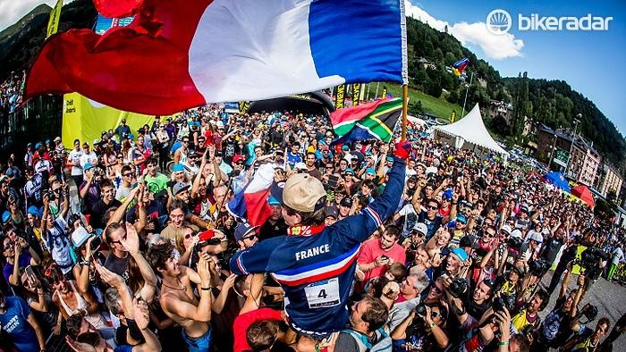 Will France's Loic Bruni make it his second set of rainbow stripes in a row?
