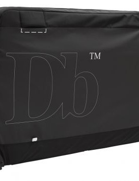 The bag is a combination of hard and soft case