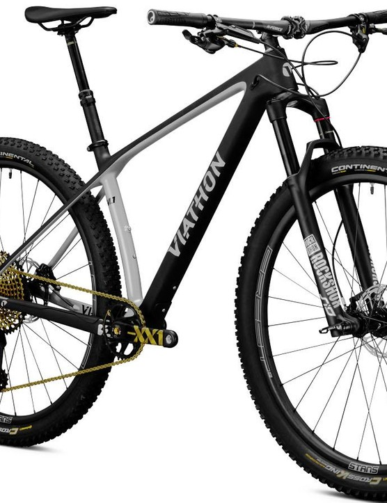 Viathon's M.1 hardtail 29er doesn't look half bad