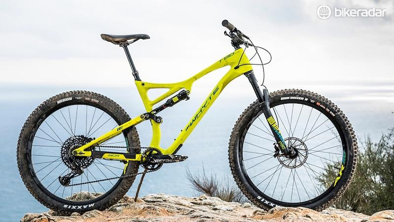 Whyte has stretched the T130 into one of the longest bikes on test, but it's no handful